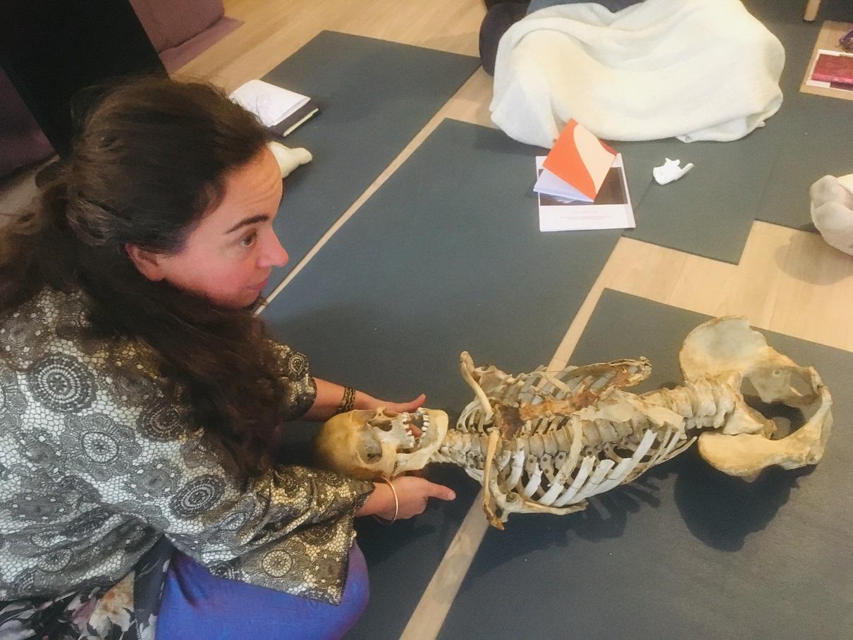Formation massage ayurvédique ostéopathie Ayur yoganess.fr Guillaume Calabretto Cathie Marchan Julie Delias
