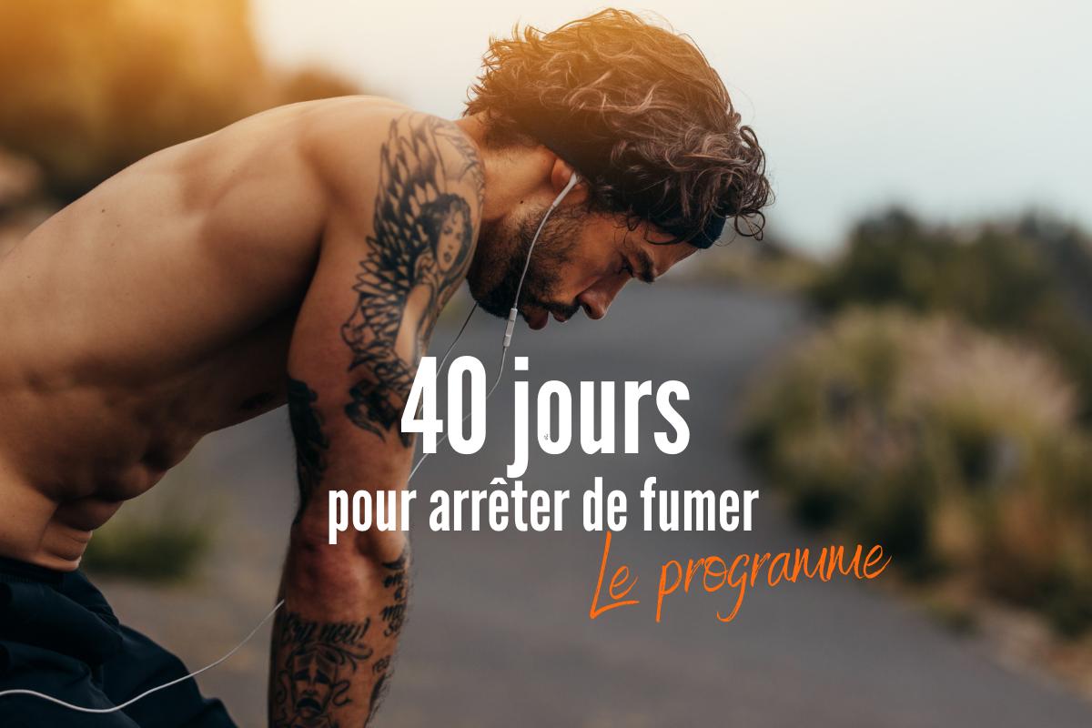 coaching 40 jours pour arrêter de fumer le programme