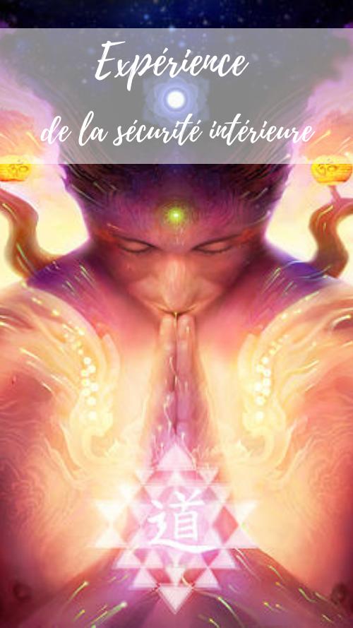 Sécurité intérieure autonomie affective apaisement relaxation Yoga psychothérapie