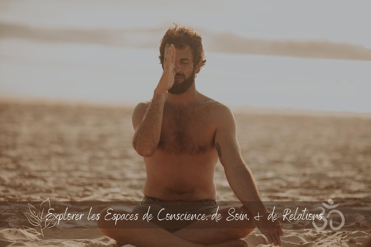 Guillaume Calabretto enseignant de Yoga facilitateur de processus individuels et collectifs Yoga Ayurveda Médecines racines thérapie manuelle